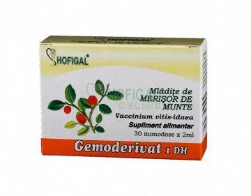 Gemoderivat Mladite De Merisor De Munte 30 monodoze*1.5 ml